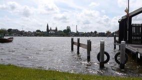 Panorama dello Zaan in Olanda video d archivio