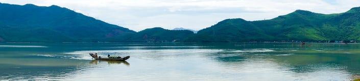 Panorama Denny widok Wietnam Zdjęcia Stock