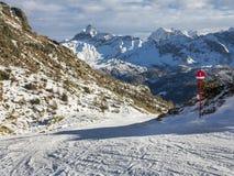 Panorama der Alpen Lizenzfreies Stockfoto