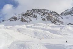 Panorama der Alpen Lizenzfreie Stockbilder