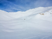 Panorama der Alpen Lizenzfreie Stockfotos