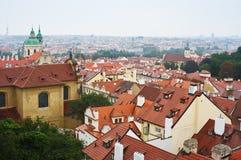 Panorama der alten Stadt in Prag stockfoto