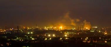 Panorama der Eisenhüttenwerke Stockbilder