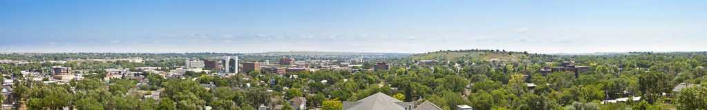 Panorama der schnellen Stadt, South Dakota Stockfoto