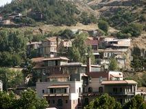 Panorama der Stadt Stockbild