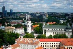 Panorama der Stadt Stockfoto