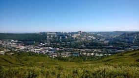 Panorama der Stadt Lizenzfreie Stockfotos