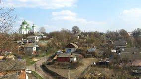 Panorama der Stadt von Novgorod-Seversky Lizenzfreie Stockfotos