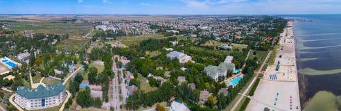 Panorama der Stadt von Skadovsk Lizenzfreies Stockbild