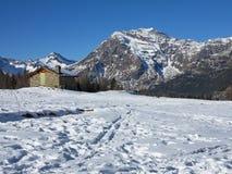 Panorama des alpes Images libres de droits