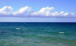 Panorama des Caraïbes Photo libre de droits