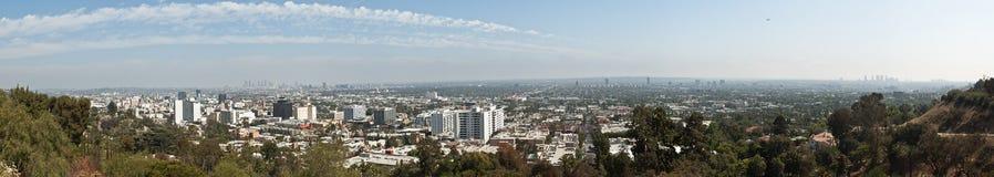 Panorama des großen Umfangs von Los Angeles Lizenzfreies Stockfoto