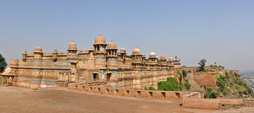 Panorama des Gwalior-Forts stockfotografie