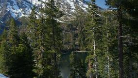 Panorama des Lake Tahoe stock video