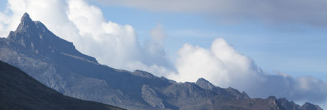 Panorama des montagnes des Andes État de Mérida venezuela Photo stock