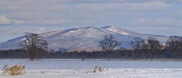 Panorama des montagnes Sikhote-Alin images libres de droits