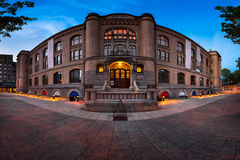 Panorama des Museums der Kulturgeschichte des morgens, Oslos noch Lizenzfreie Stockfotos