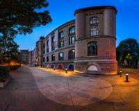 Panorama des Museums der Kulturgeschichte des morgens, Oslos noch Stockfoto