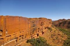 Panorama des Rois Canyon, Australie Images libres de droits