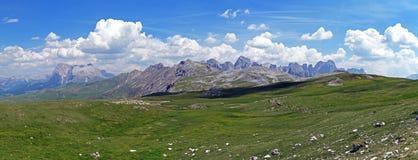 Panorama des Rosengarten lizenzfreies stockfoto