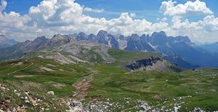 Panorama des Rosengarten lizenzfreie stockfotos
