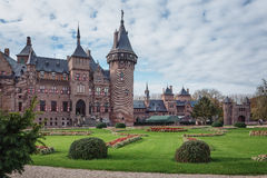 Panorama des Schlosses Lizenzfreie Stockfotos