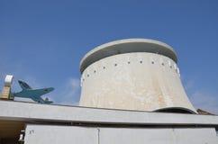 Panorama des Stalingrad-Kampfmuseums stockfotos
