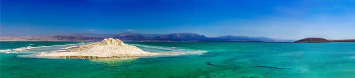Panorama des Toten Meers Stockfotografie