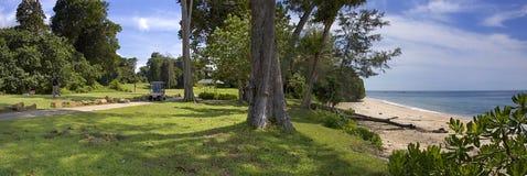 Panorama-Desaru di terreno da golf Fotografia Stock Libera da Diritti