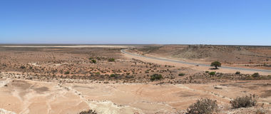 Panorama of desert. Stock Photo