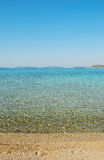 Panorama desobstruído do mar Imagem de Stock