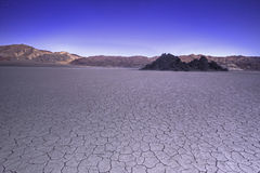 Panorama of Devils Golf Course in Death Valley USA Stock Images
