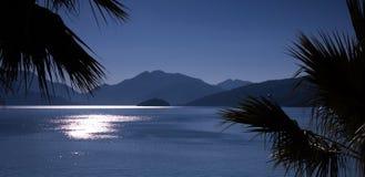 Panorama di alba del golfo Fotografia Stock Libera da Diritti