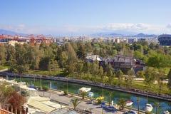 Panorama di Atene, Grecia Immagini Stock
