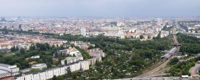 Panorama di Berlino in secondo luogo Fotografia Stock