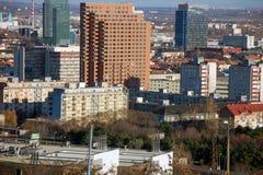 Panorama di Bratislava fotografia stock libera da diritti