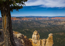 Panorama di Bryce Canyon negli Stati Uniti Fotografia Stock Libera da Diritti