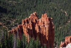 Panorama di Bryce Canyon negli Stati Uniti Fotografie Stock
