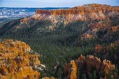 Panorama di Bryce Canyon negli Stati Uniti Immagini Stock