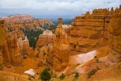 Panorama di Bryce Canyon negli Stati Uniti Fotografia Stock