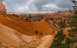 Panorama di Bryce Canyon negli Stati Uniti Fotografie Stock Libere da Diritti
