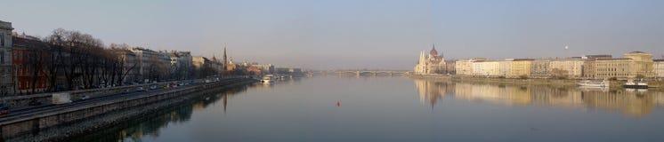 Panorama di Budapest fotografia stock