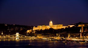 Panorama di Budapest Fotografia Stock Libera da Diritti