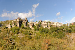 Panorama di Cantobre Fotografia Stock