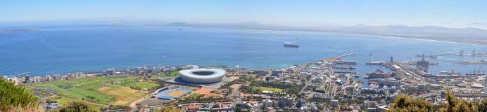 Panorama di Cape Town immagini stock