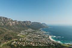 Panorama di Cape Town fotografia stock libera da diritti