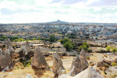 Panorama di Cappadocia fotografia stock libera da diritti