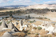 Panorama di Cappadocia immagine stock