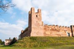 Panorama di Castelfranco immagini stock