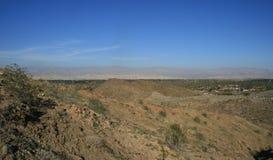 Panorama di Coachella Valley Fotografia Stock Libera da Diritti